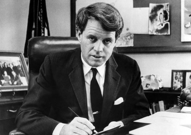 The US Senator, Bobby Kennedy, was gunned down