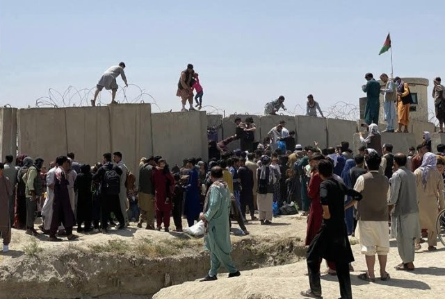 Afghanistan has now fallen under the control of the Taliban - and the US is getting the blame