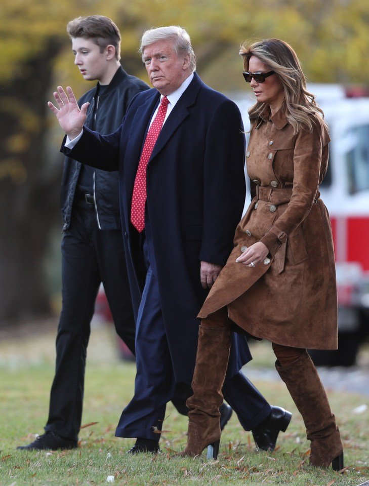 The Trump family relocated to Florida after the 2020 election