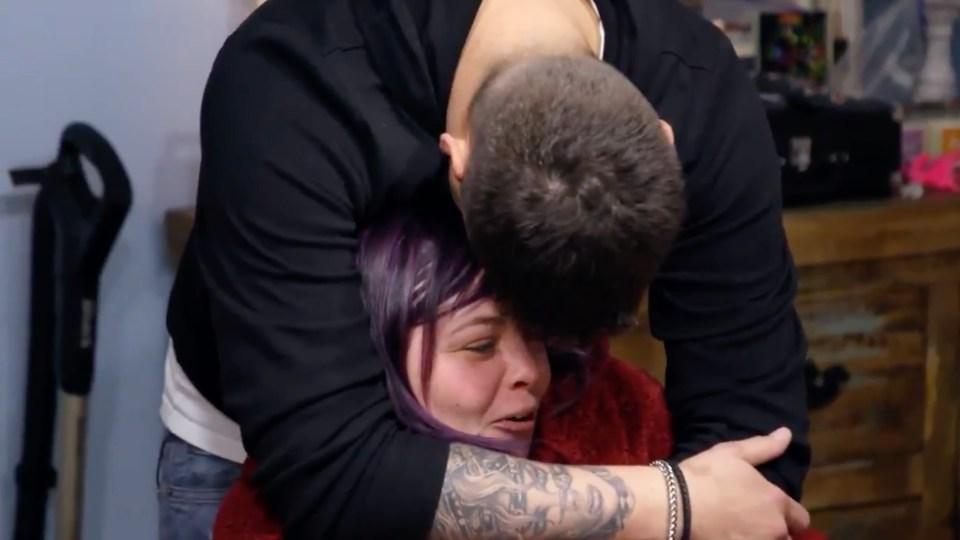 Tyler hugged Catelynn