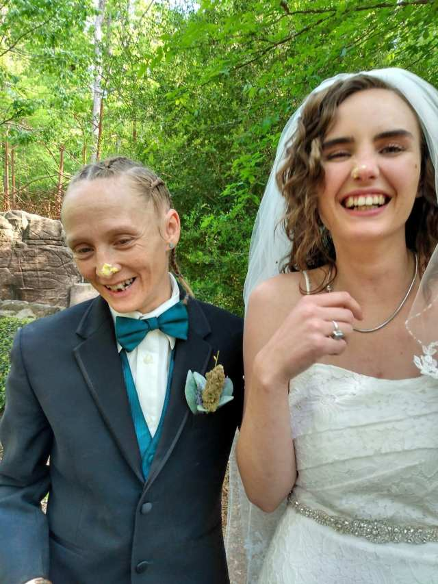 A suspect had not been found in the newlyweds' fatal shooting, according to reports