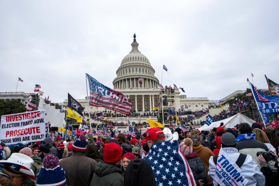 Five people died during the siege on the US Capitol on January 6