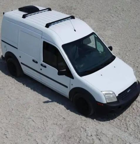 The couple's camper van has been seized by police as investigators search the vehicle for clues
