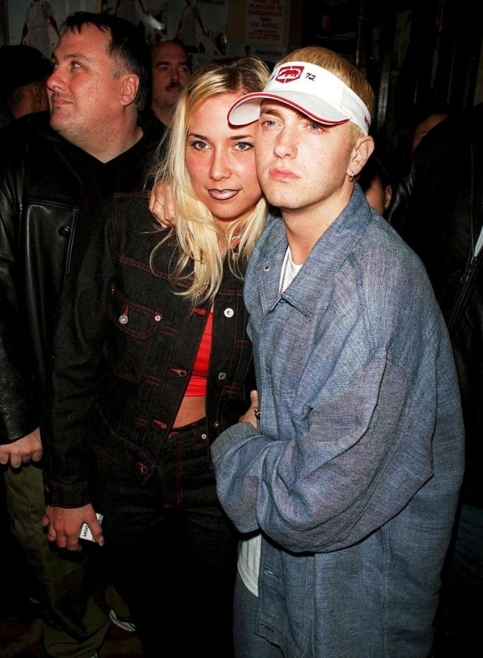 Four years after Hailey was born, Kim and Eminem split