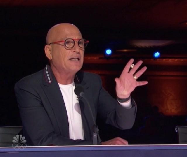 Howie has been a judge on America's Got Talent since season 5