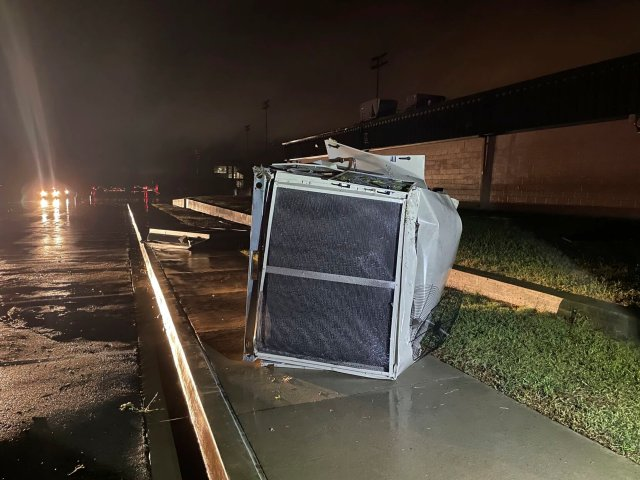 Mayor David Holt said no injuries were reported due to the storm