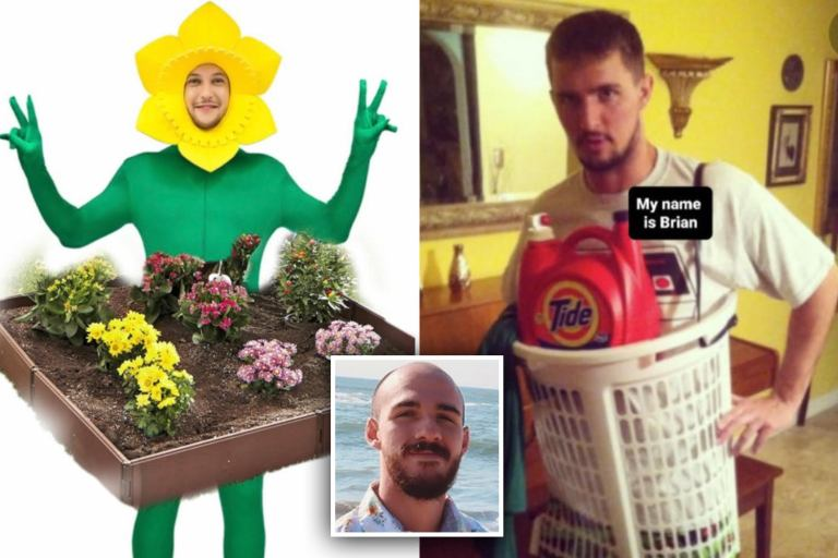 Watch Sick trolls create Brian Laundrie Halloween costumes with laundry and flowerbed –  Google News