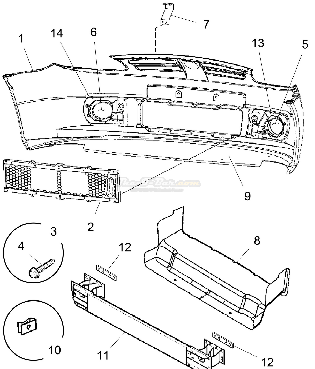 Ford Ranger Bumper Diagram Html