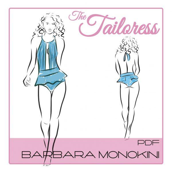 Bárbara Monokini PDF Sewing Pattern