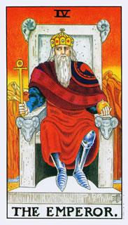 Betekenis Tarotkaart De Keizer Raider Waite