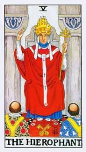 Betekenis van de tarotkaart de Hierofant