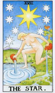 Betekenis van de Tarotkaart XVII de ster