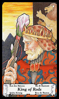 Betekenis Tarotkaart Staven Koning