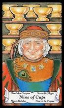 Betekenis tarotkaart Bekers Negen