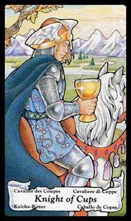 Betekenis tarotkaart Bekers Ridder