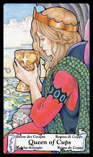 betekenis tarotkaart Bekers Koningin