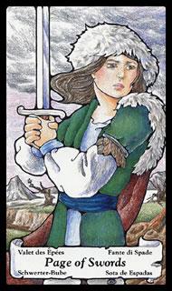 betekenis tarotkaart Zwaarden Schildknaap