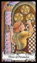 Tarotkaart Betekenis Pentakels Drie