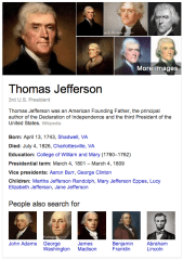 Thomas Jefferson Knowledge Graph