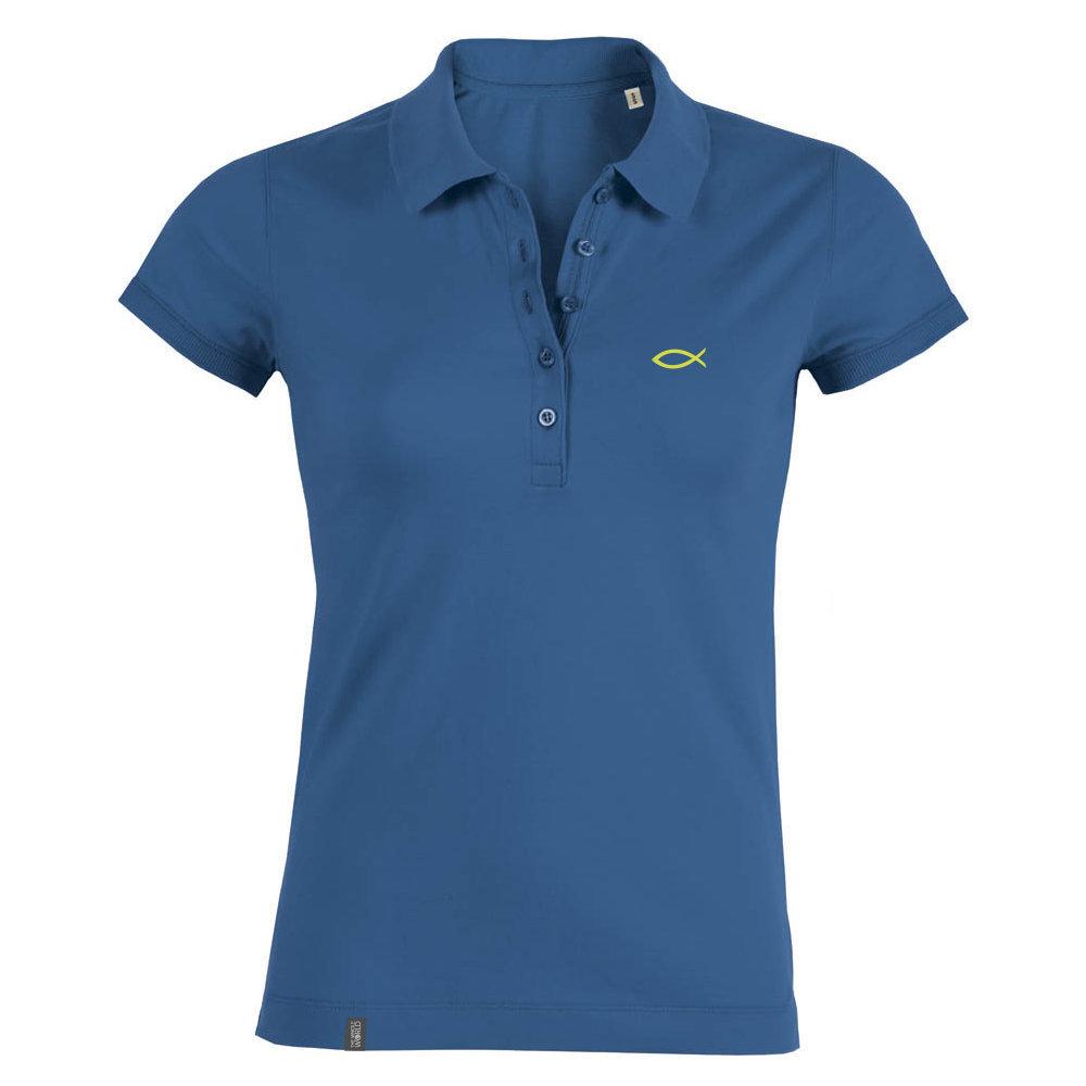 Polo Shirt Damen – Königsblau