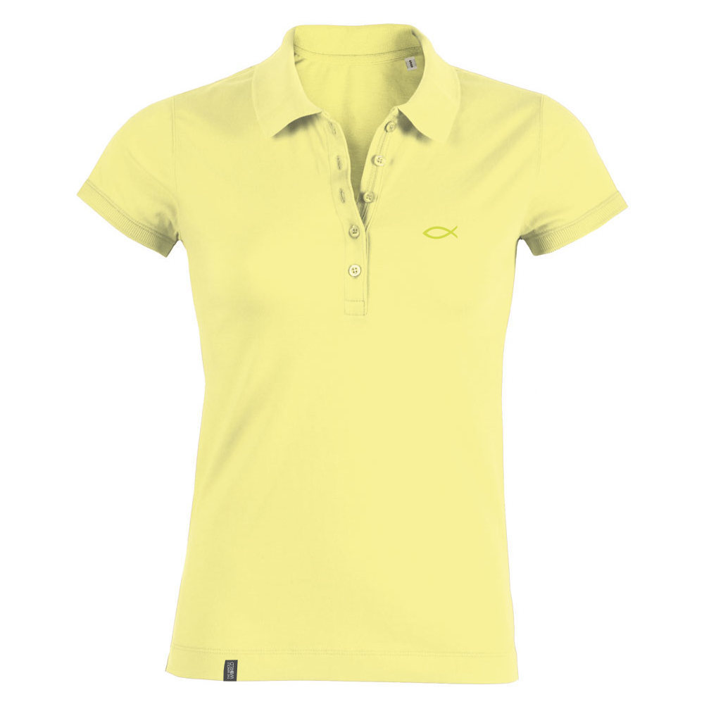 Polo Shirt Damen – Hellgrün