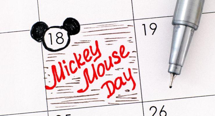 mickey mouse celebrates his 91st birthday