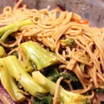 Buckwheat Pasta with Broccoli & Bell Pepper