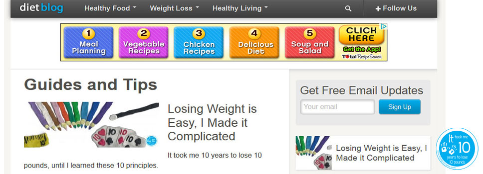 Diet Blog - My First Guest Blog