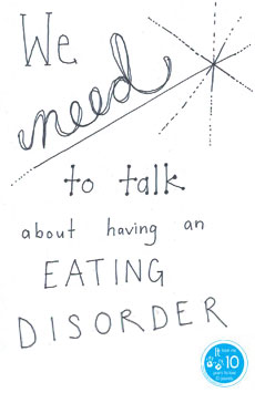 Having an eating disorder - we need to talk - the10principles