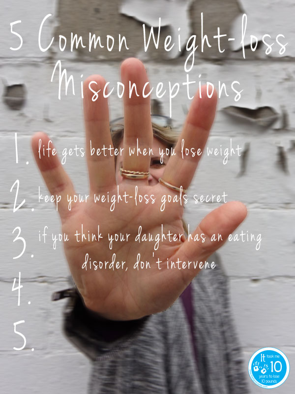 Daughter has an eating disorder - misconceptions - the10principles