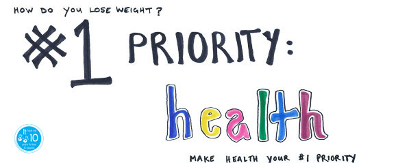 weight-loss strategy - priority