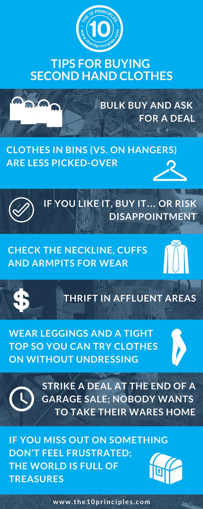 dress up - garage sale tips