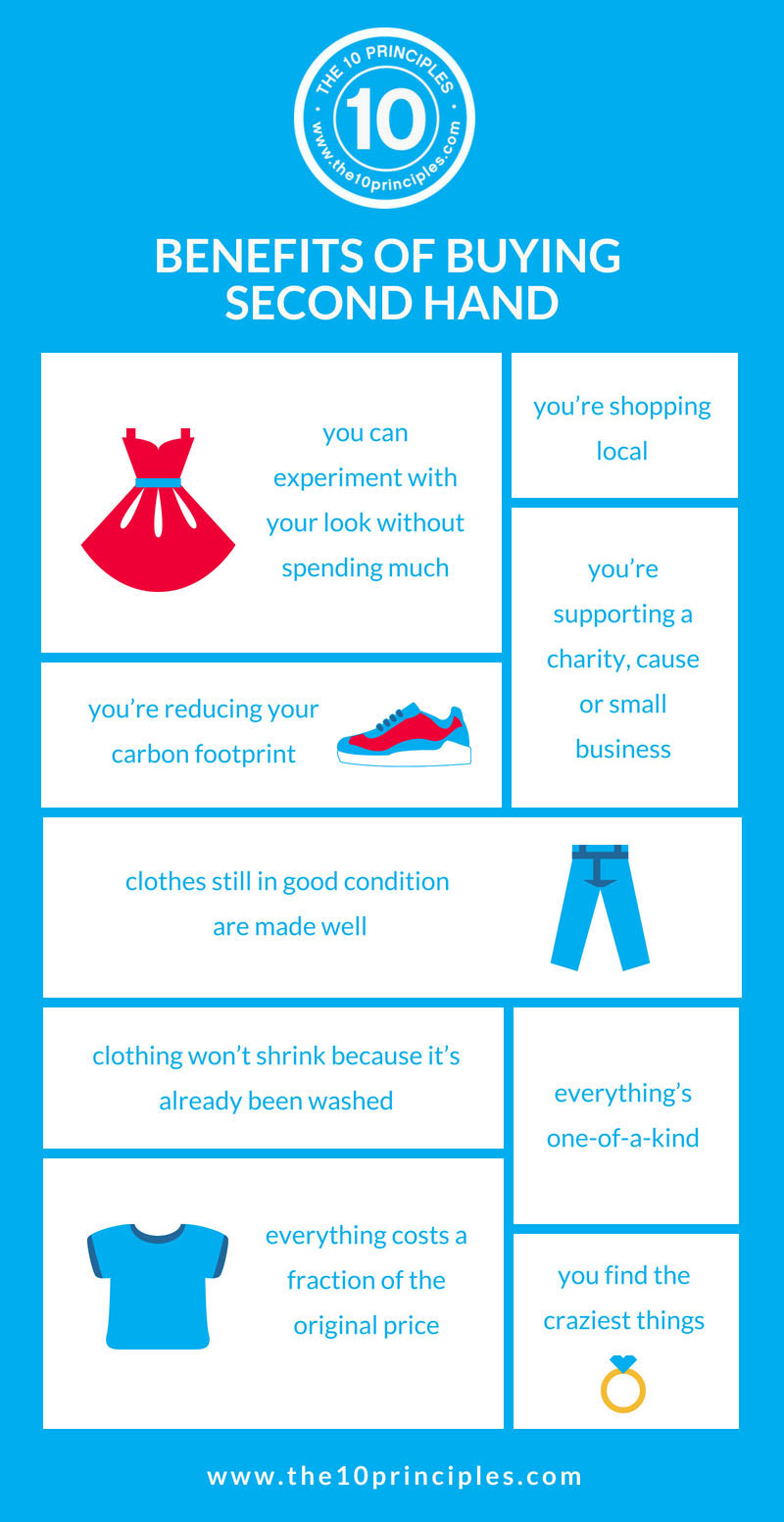 dress up - the benefits of buying second hand