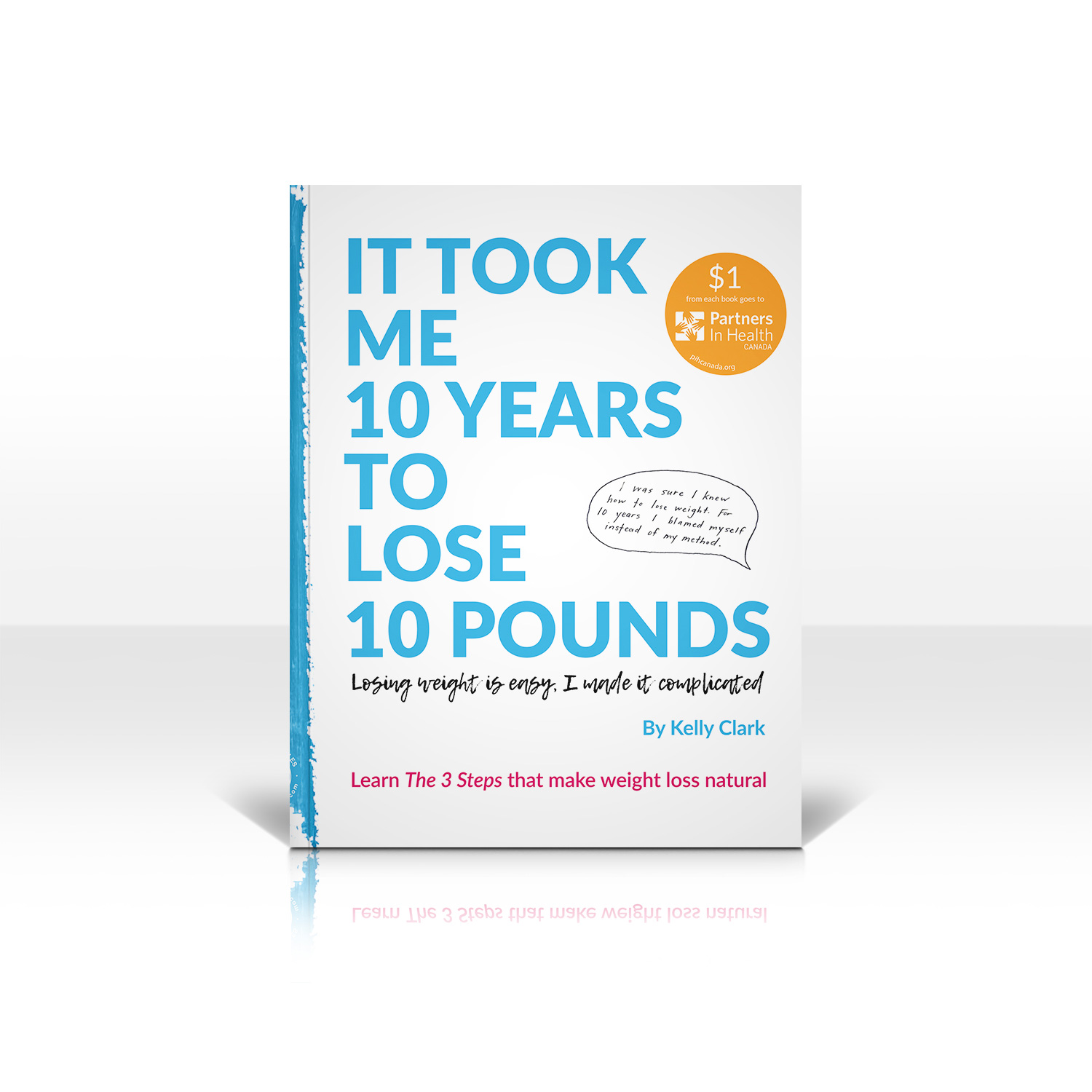 It took me 10 years to lose 10 pounds - Book Shadow