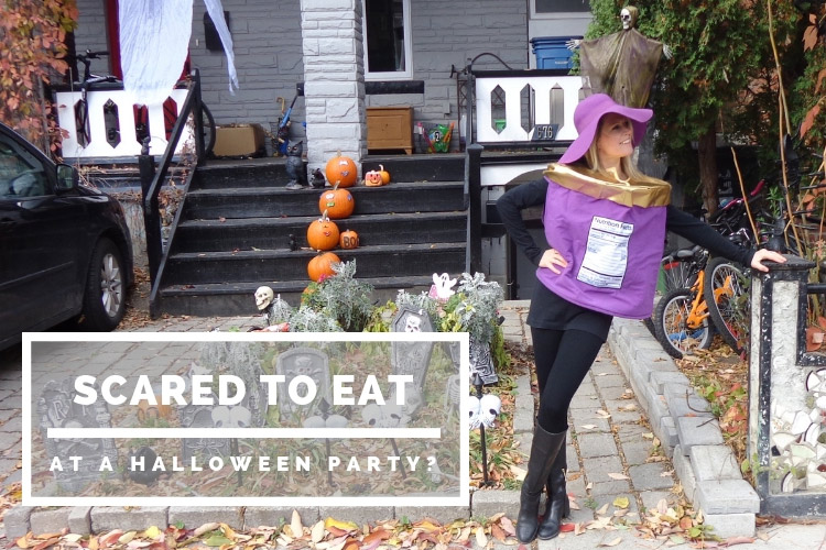 Scared to eat at a Halloween Party?