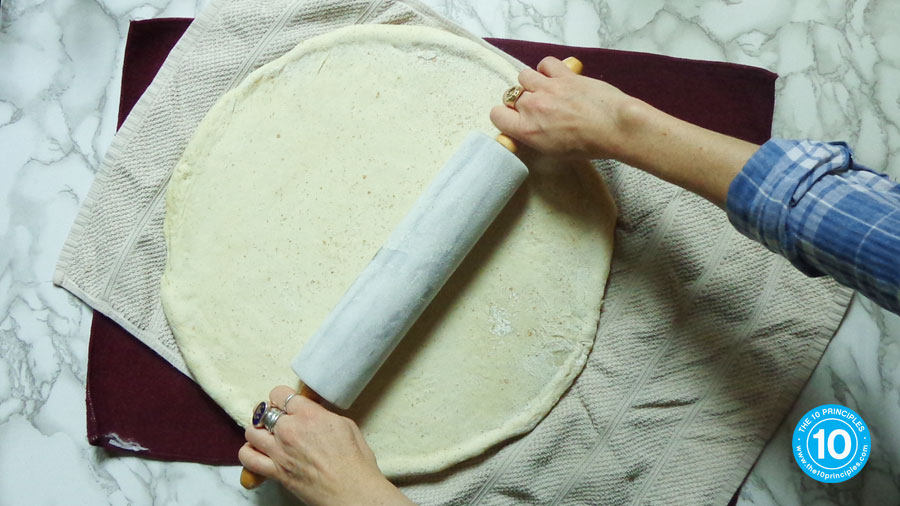 Does eating pizza make you gain weight - roll out dough