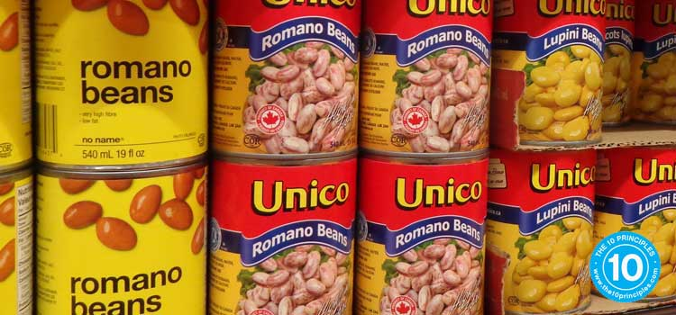 Beans, nuts, seafood, poultry and alternatives