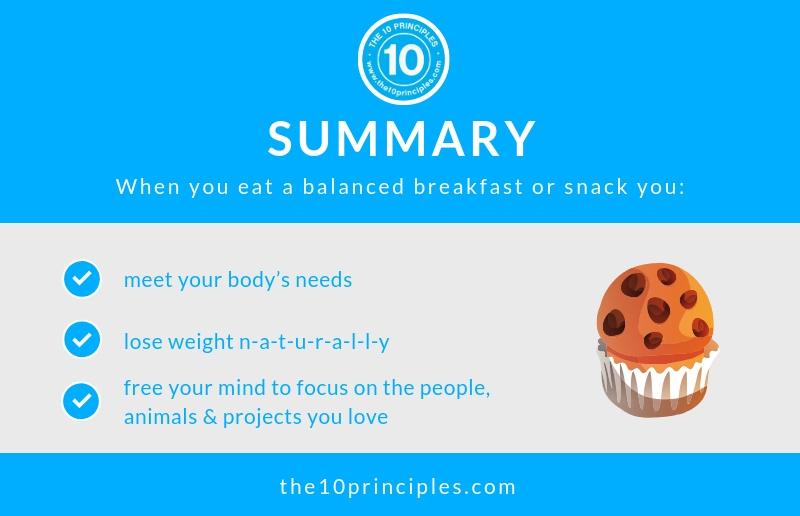 Healthy banana muffin recipe - summary