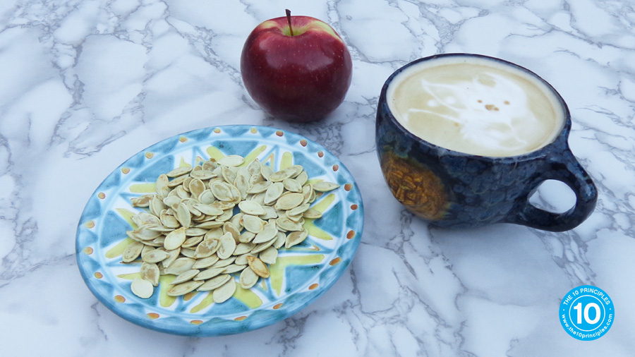 Make pumpkin seeds part of a balanced snack that helps you lose weight
