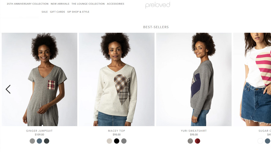 Kelly Clark - International Women's Day - Preloved Clothing