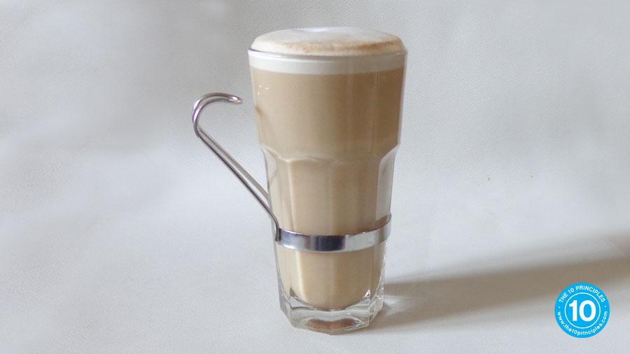 Christmas brunch recipe - milky coffee