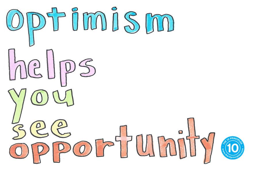 optimism can take you where you need to go