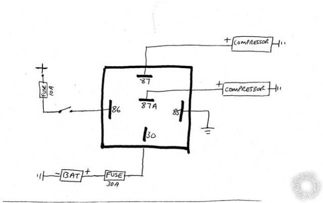 relay wiring diagrams wiring diagram relay wiring diagrams