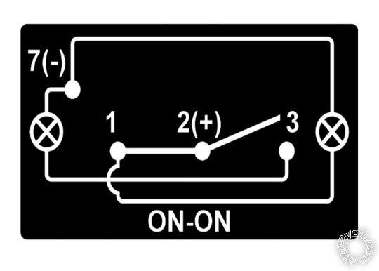 dual illumination spdt rocker switch