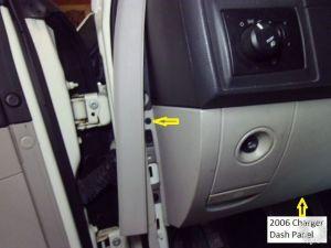 2006 Dodge Charger Remote Start wKeyless Pictorial
