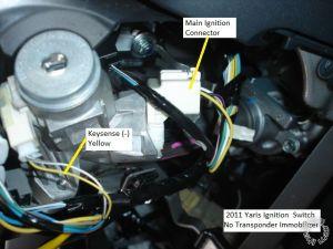 200911 Toyota Yaris Remote Starter Pictorial