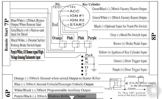 2007 corolla remote start wiring diagram  center wiring