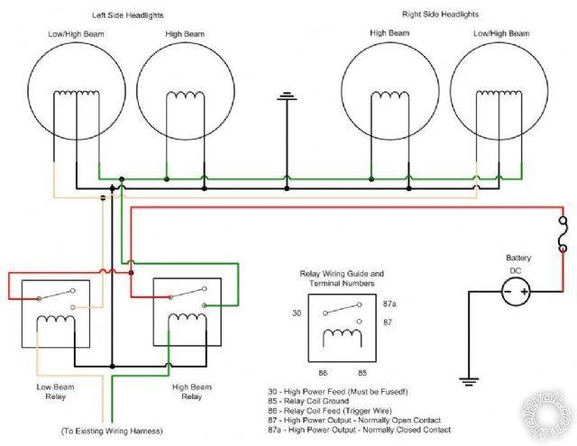 car headlight simple wiring diagrams  fuse box on porsche