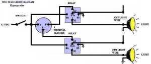 4 Way Flasher Wiring Diagram Schematic   Wiring Diagram