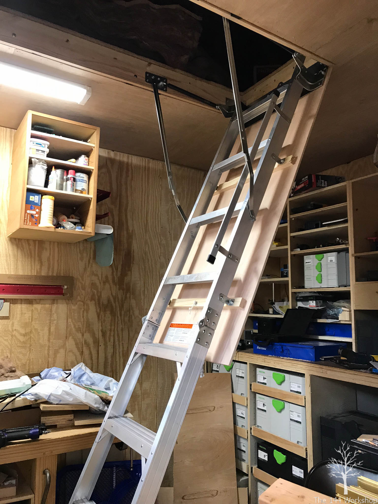 Good ... But It Was Easily Replaced With Yet Another Trip To The Store. The  Ladder Is Solid Against The Floor And The Lag Bolts Give Me Comfort At The  Top.